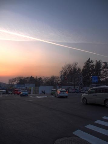 夕暮れの仙台 HDR
