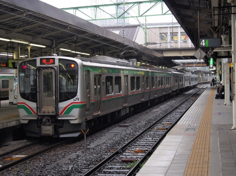 東北本線 E721系 電車