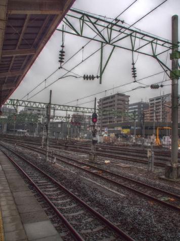 雨の仙台駅【HDR工房】