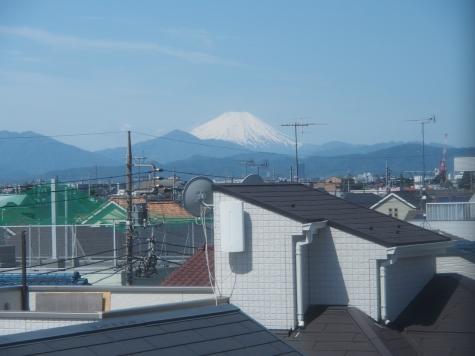 中央本線からの富士山