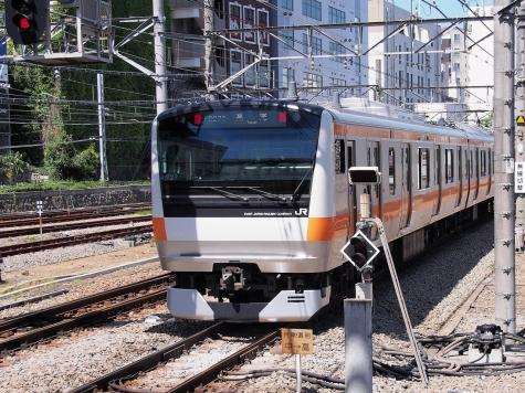 中央快速線 E233系0番台 通勤型 電車