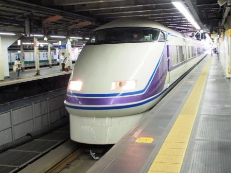 東武鉄道 100系 特急「スペーシアきぬがわ3号」 『雅』仕様