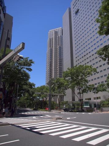 新宿副都心にて【HDR】