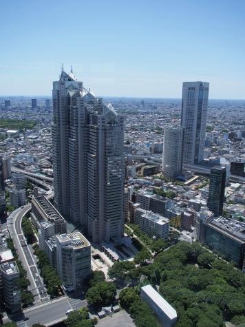 新宿パークシティ&東京オペラシティ・タワー【東京都庁より】