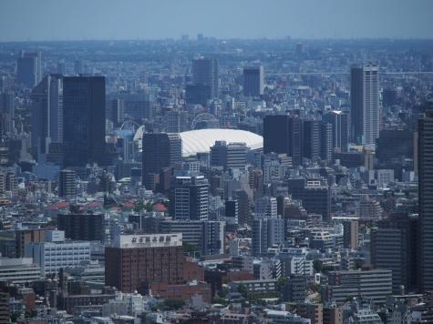東京ドーム【東京都庁より】