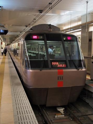 小田急 ロマンスカー 30000形 EXE車