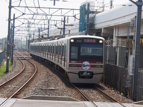 新京成電鉄 N800形「2014マリーンズ号」
