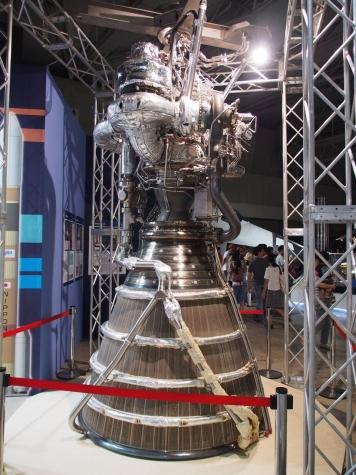 LE-7Aエンジン【宇宙博2014】