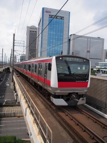 JR京葉線 E233系5000番台 電車