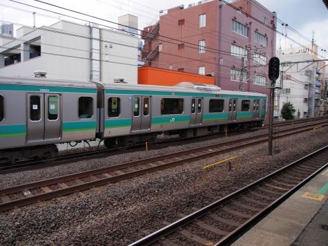 常磐快速線・成田線 E231系 電車