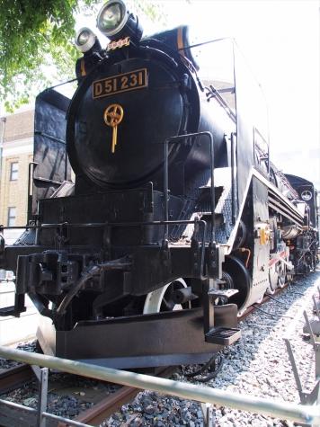D51形231号機 蒸気機関車【国立科学博物館】