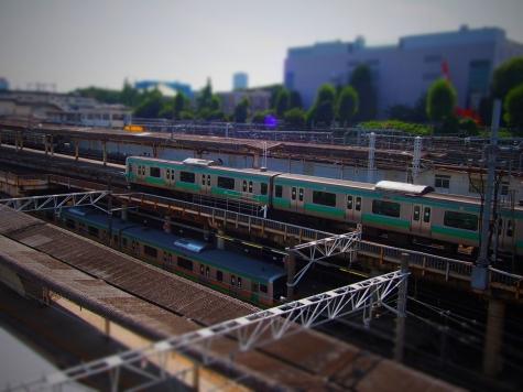 JR 上野駅にて 【ジオラマ工房】