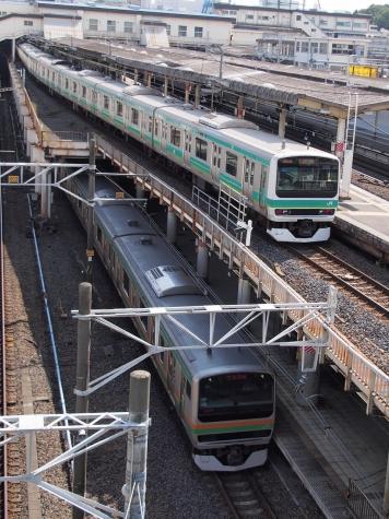E231系 通勤型&近郊型 電車【上野駅】