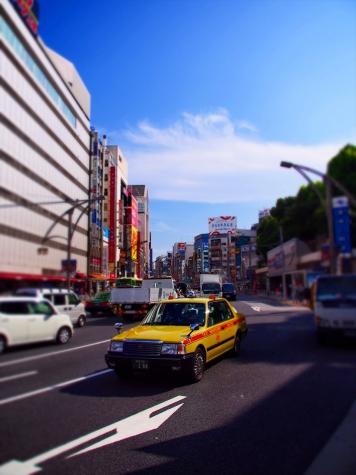 上野駅周辺【チルトシフト】