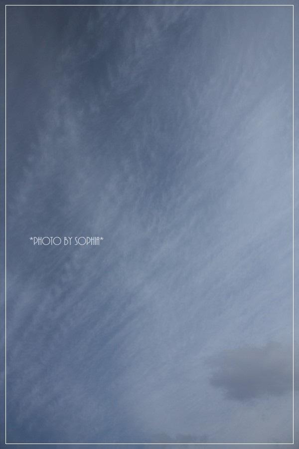 2014年2月17日の空
