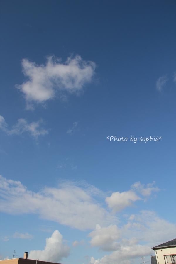 2014年8月28日の空