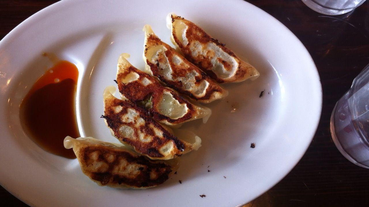 田ぶし焼き餃子
