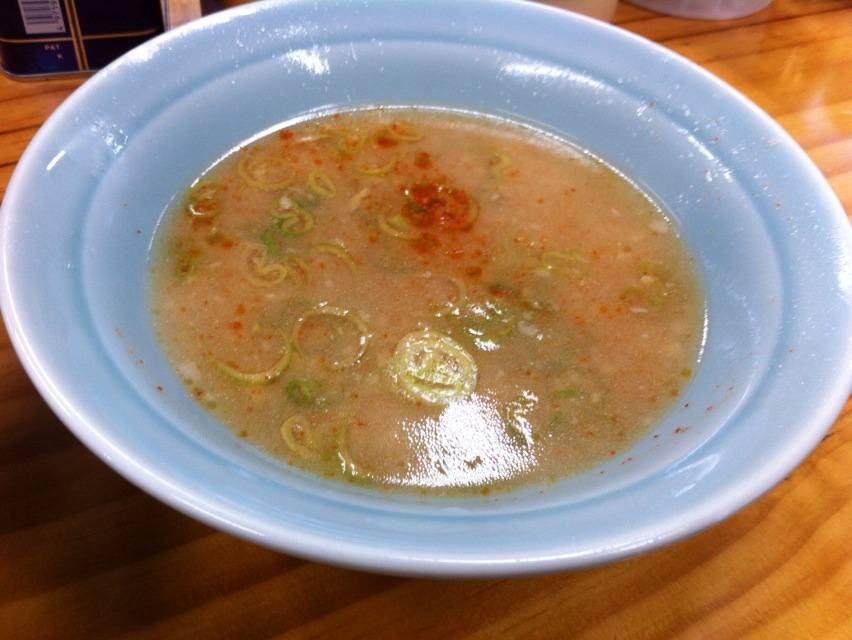 ラーショ寒川つけ麺スープ