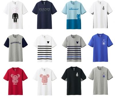 ユニクロベアブリックTシャツ 2014