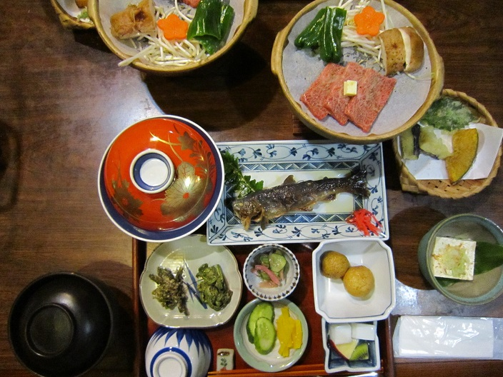 白川郷夕食