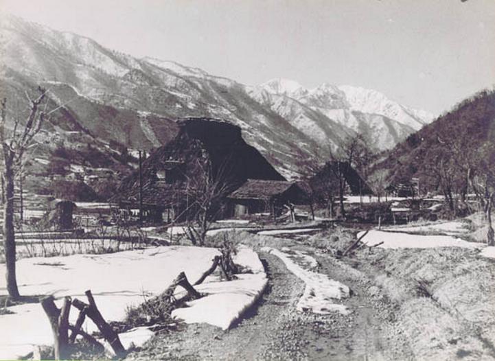 荘川村風景