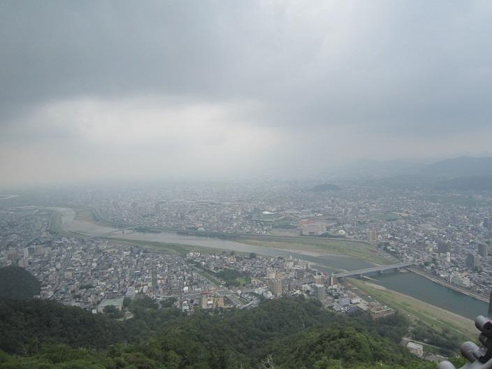 岐阜城から観た景色