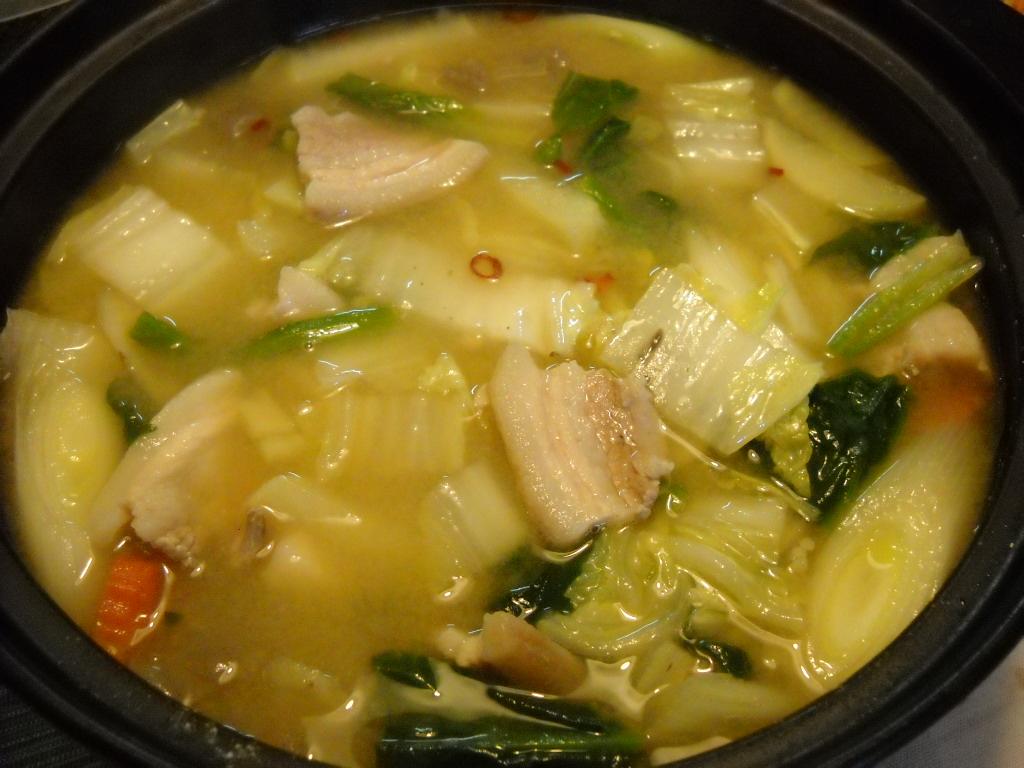 味噌ぶた鍋1
