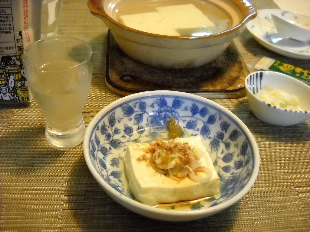 ひとり湯豆腐