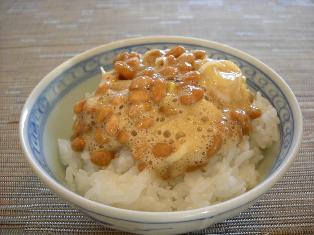納豆ごはん (2)