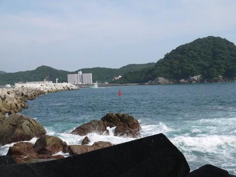 和歌山県のすさみ町沖には、海底10メートルのところにポストがある?