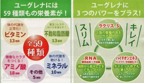 栄養素59種類に乳酸菌、RNAリボ核酸をプラス!ユーグレナサプリメント【パーフェクトグリーン】