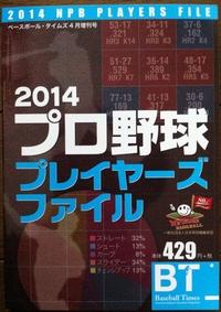2014プロ野球プレイヤーズファイル