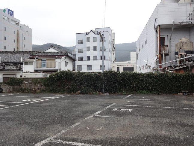 某駐車場改修~塀撤去中