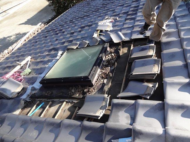 屋根雨漏り補修