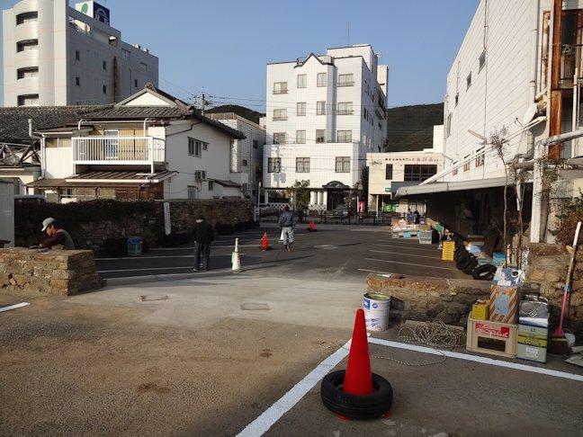 対馬丸栄駐車場改修工事~完了
