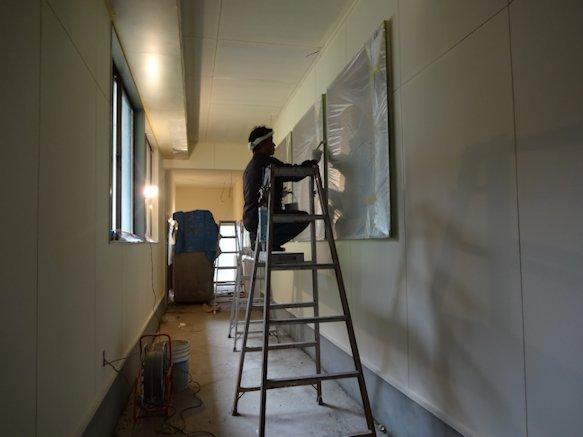 某施設改修工事~内部塗装